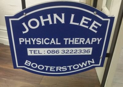 Hanging Signs and Pavement Signs