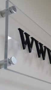 Office Reception Sign