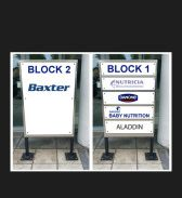Freestanding Office Signs