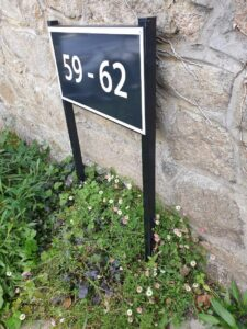 housing estate house numbers