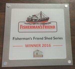 Winners award plaque