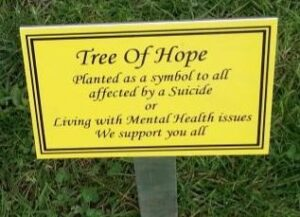 Tree of Hope Plaque